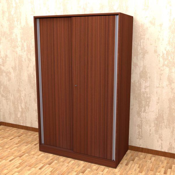 classic plank finish sliding wardrobe