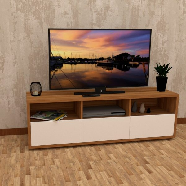Nose Walnut finish Television unit