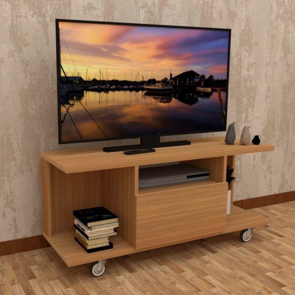 Urban Teak Finish Television unit